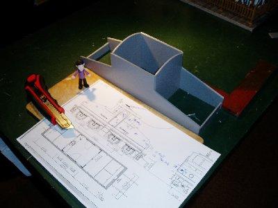 1 versuch die strassenbahnlok auf dem k chentisch modellbahn forum f r 1 22 5 und 1 1 1 32. Black Bedroom Furniture Sets. Home Design Ideas