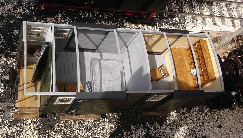 post gep ckwagen wn 23 der h rtsfeldbahn. Black Bedroom Furniture Sets. Home Design Ideas