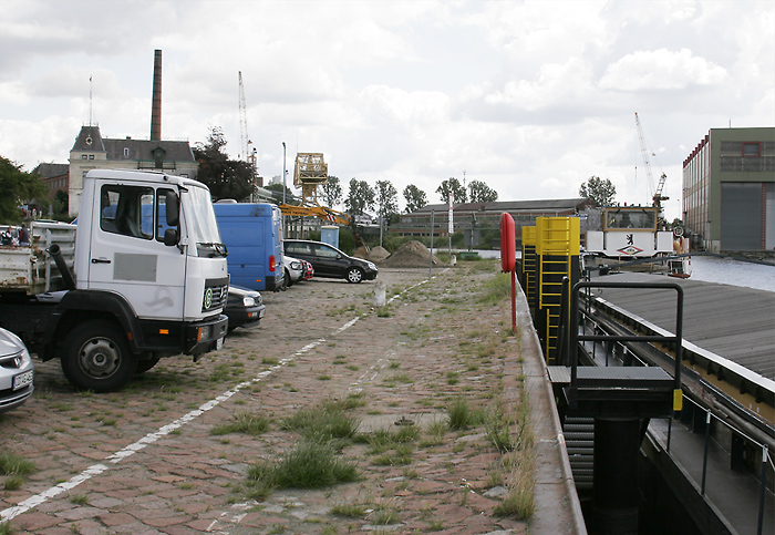 Feldbahnmodule Mit Schiff