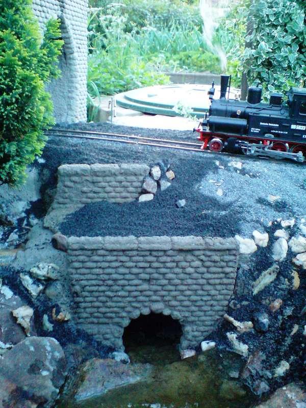 tunnel und fluegelmauern im eigenbau