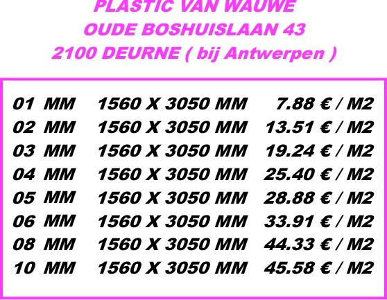 Forex platen prijzen